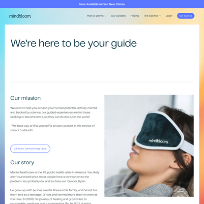 Mindbloom   About Us