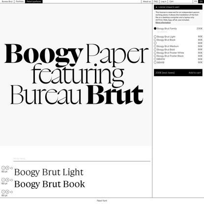 Boogy Brut – Bureau Brut