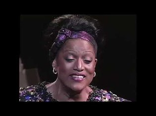 "Jessye Norman sings ""Deep River"" at Carnegie Hall"