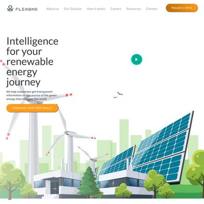 FlexiDAO - The new way of buying renewable energy