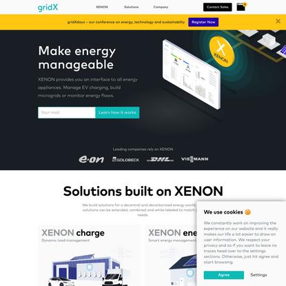 gridX - IoT for energy
