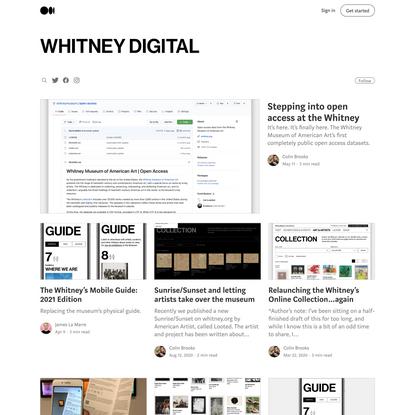 Whitney Digital – Medium