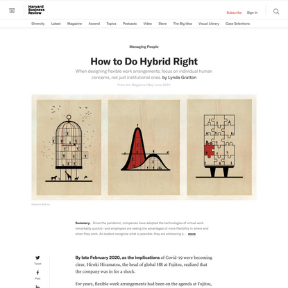 How to Do Hybrid Right