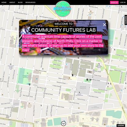 Map   Community Futures