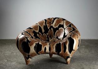 python blob chair