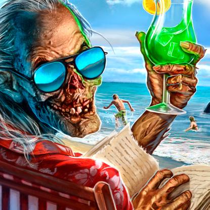 Beach body by crypt!