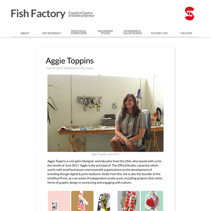 Aggie Toppins | Fish Factory