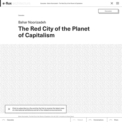 The Red City of the Planet of Capitalism