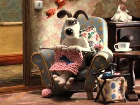 frustrated Gromit