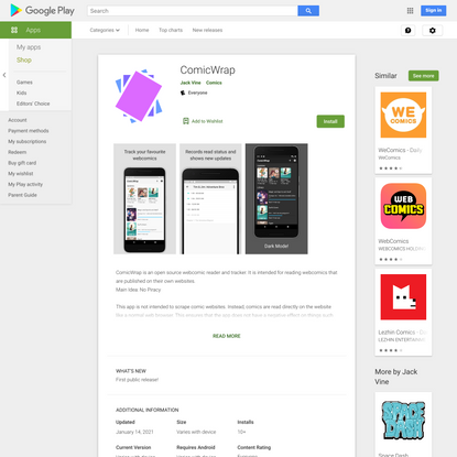 ComicWrap - Apps on Google Play