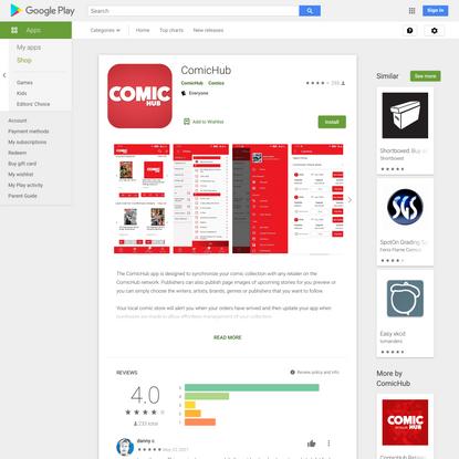 ComicHub - Apps on Google Play