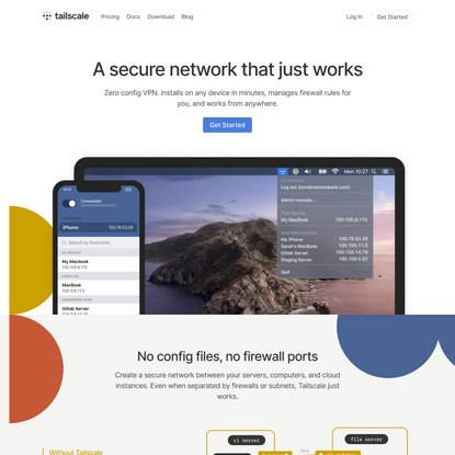 Best VPN Service for Secure Networks - Tailscale