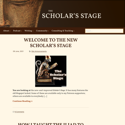 The Scholar's Stage