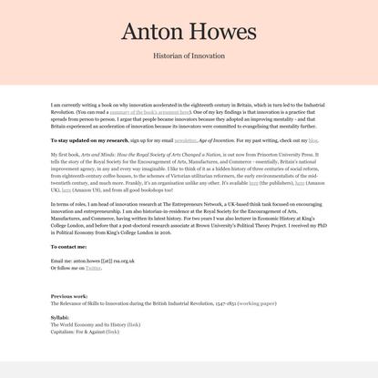 Anton Howes