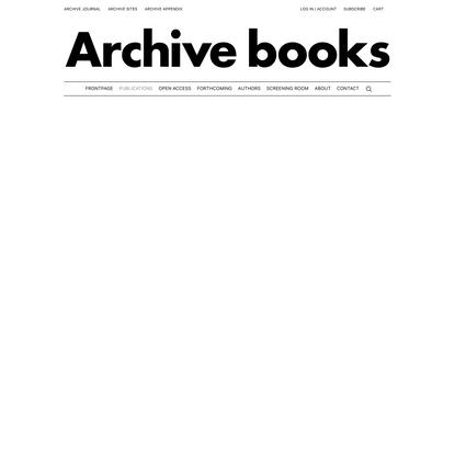 Publications - Archive Books