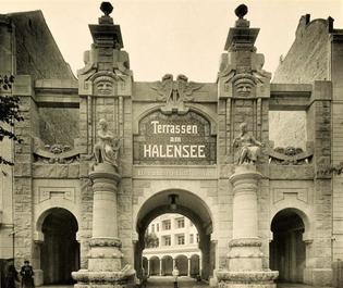 Entrance to Lunapark / Terrassen am Halensee, no date (probably 1910s)
