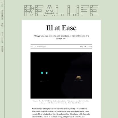 Ill at Ease — Real Life