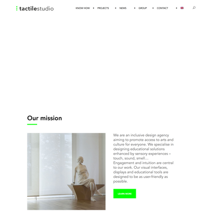 Inclusive design agency for cultural institutions - Tactile Studio