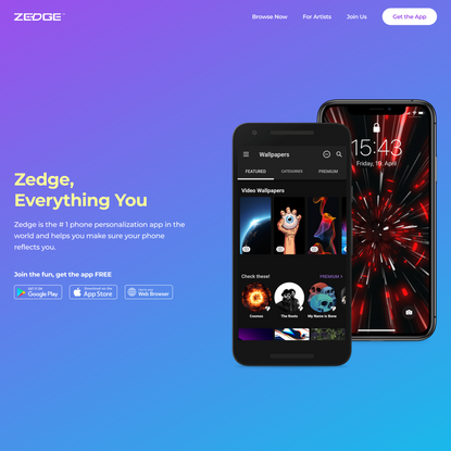 ZEDGE - Everything you