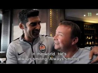 Football is a World - Shakhtar's coach Paulo Fonseca at Channel 11