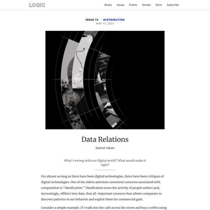 Data Relations