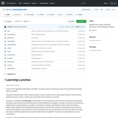 veltman/learninglunches