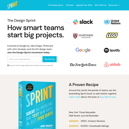 The Sprint Book