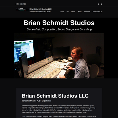 Home | Brian Schmidt Studios LLC