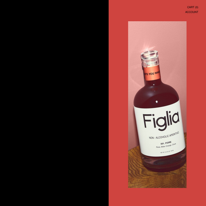 Drink Figlia: For Moments You Want To Remember