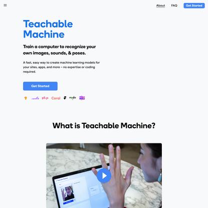 Teachable Machine