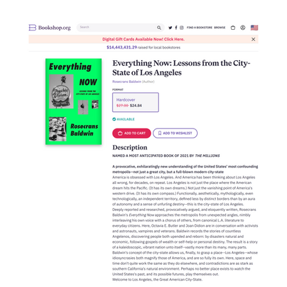 Everything Now: Lessons from the City-State of Los Angeles