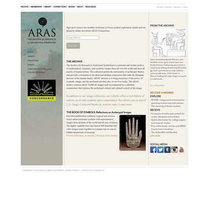 The Archive for Research in Archetypal Symbolism | ARAS