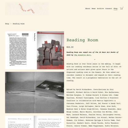 Reading Room by dispersed holdings