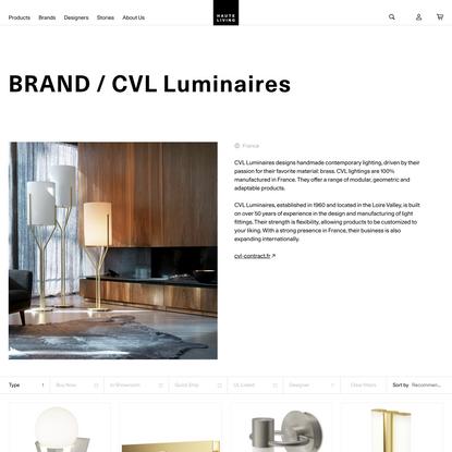 CVL Luminaires Modern Lighting | Haute Living
