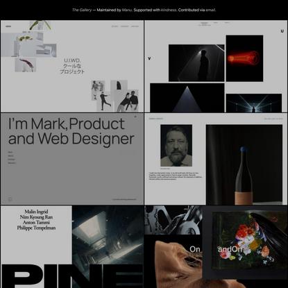 The Gallery – Minimal Websites