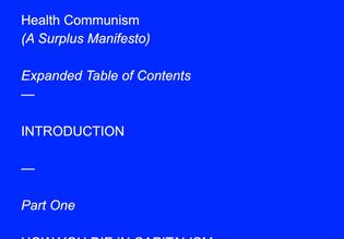 Health Communism (Verso Books, 2022)
