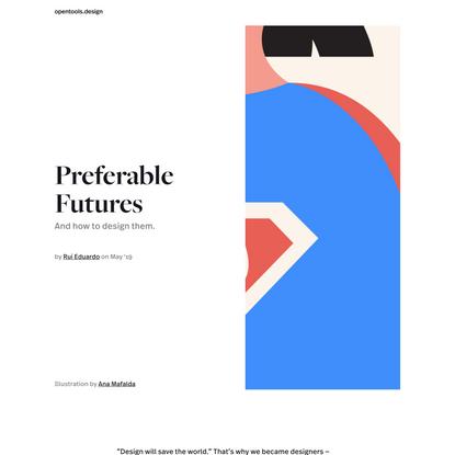 Open Tools - Preferable Futures