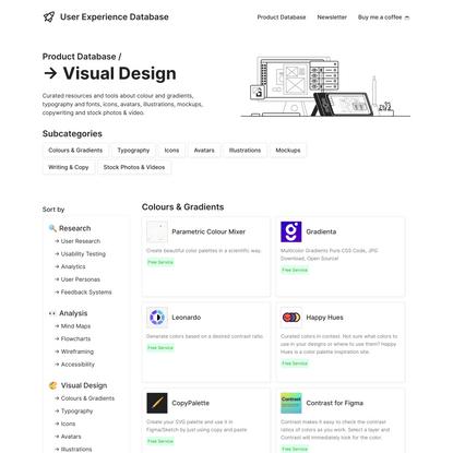 Visual Design Resources & Tools