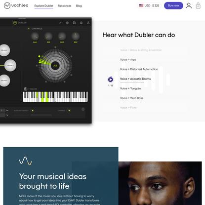 What is Dubler Studio Kit?   Vochlea Music