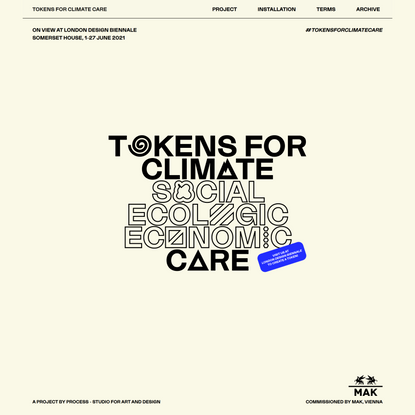 Tokens For Climate Care