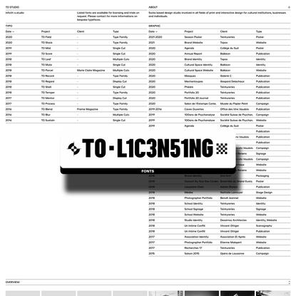 Tancrède Ottiger | Typo & Graphic Design