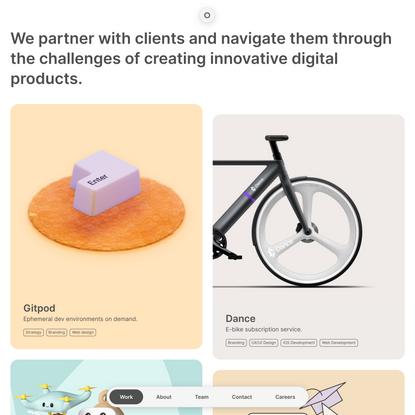 Work | MAD – Digital Product Studio