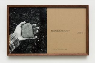 Helen Mirra, Walking Comma, 2013