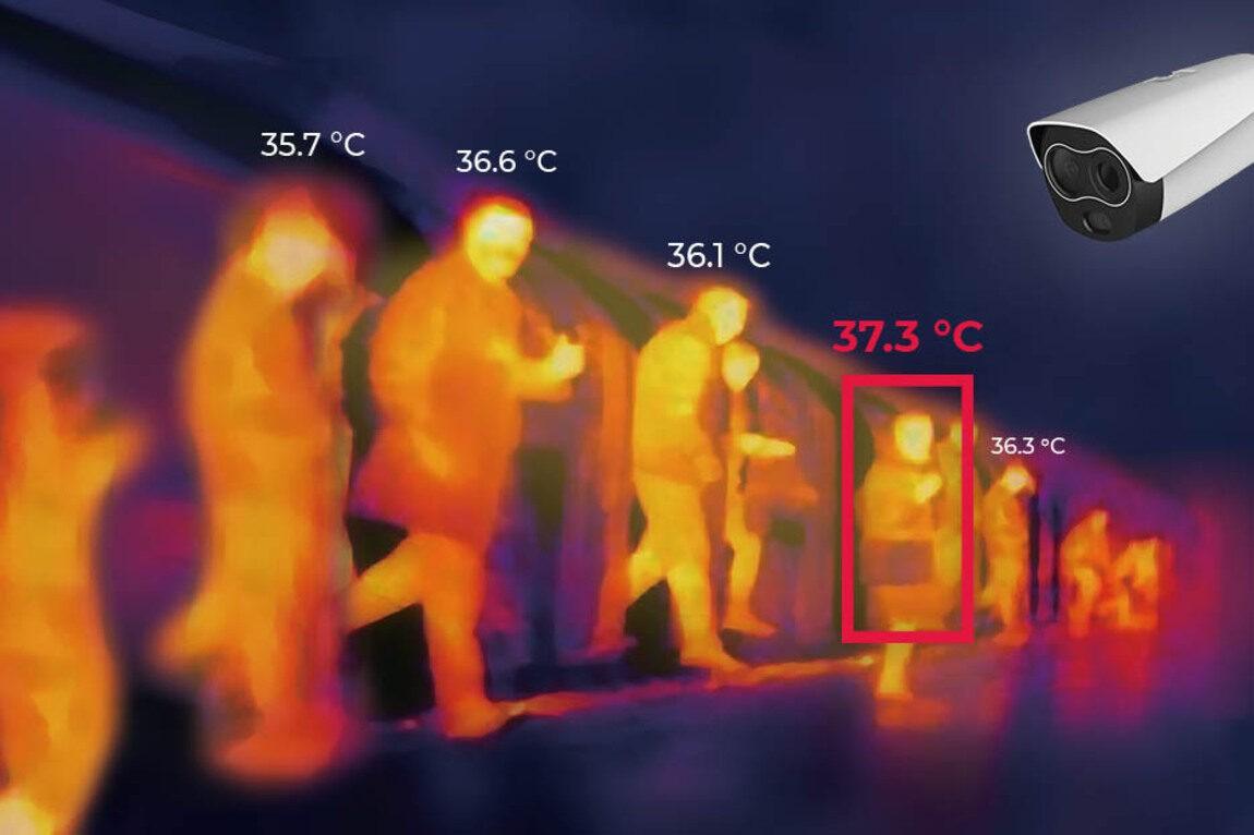 Integration of thermal cameras with workforce management platforms