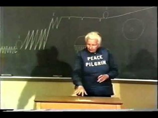 Peace Pilgrim Speaking to a College Class