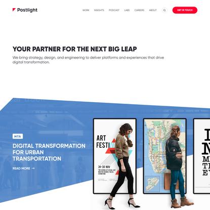 Postlight — Digital Strategy, Design, and Engineering