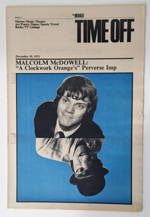 Massimo Vignelli, Time Off supplement to The Herald, December 19, 1971