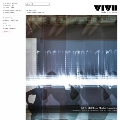 VIVO Media Arts Centre