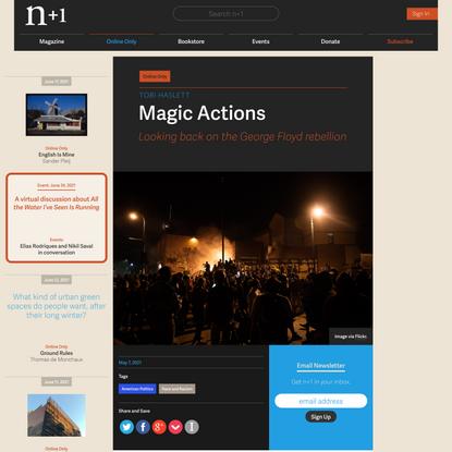 Magic Actions
