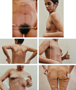 ANA MENDIETA, Untitled (Glass on Body imprints), 1972